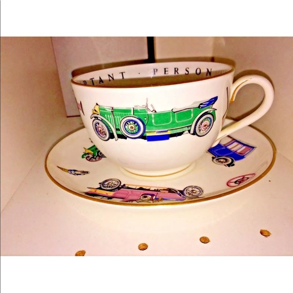 Royal Worcester Other - New Classic Cars Large Royal Worcester Cup Saucer